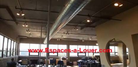 Very nice loft style office space plateau mont royal